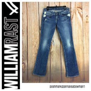 🌸William Rast SADIE Straight Leg Denim Jean sz 28